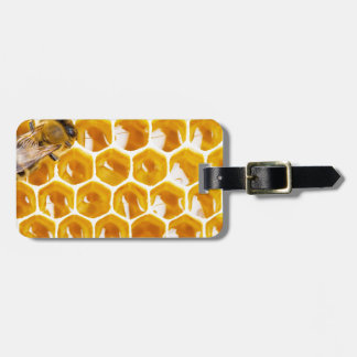 Miscellaneous - Honeycomb Patterns Two Luggage Tag