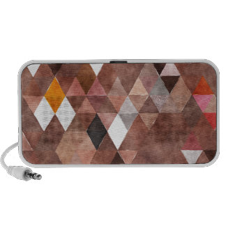 Miscellaneous - Multicolored Sixteen Triangles iPhone Speakers