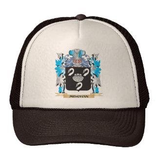 Mischan Coat of Arms - Family Crest Mesh Hats