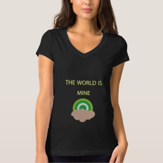 Mischief Black World is Mine T-shirt