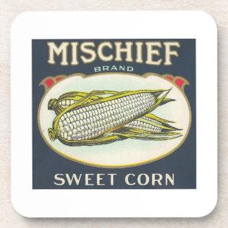 Mischief Sweet Corn Drink Coaster