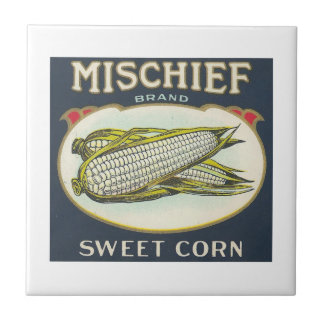 Mischief Sweet Corn Small Square Tile
