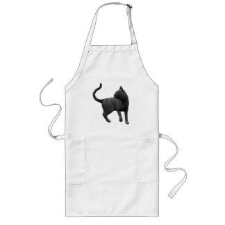Mischievous Black Cat Apron