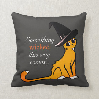 Mischievous Orange Cat - Pillow