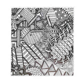 'Misdirection' Abstract Notepad