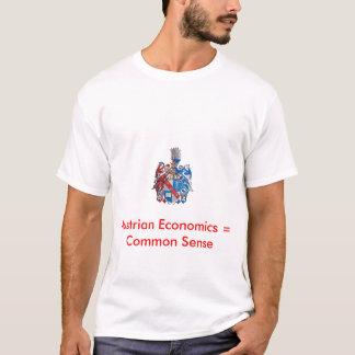 Mises crest, Austrian Economics = Common S... T-Shirt