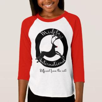 Misfits International girls raglan Shirt