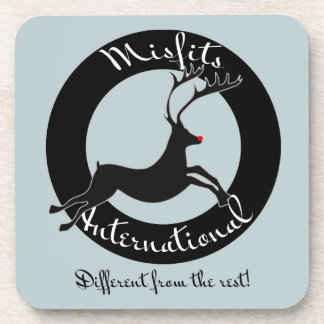 Misfits International plastic coasters