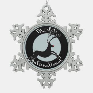 Misfits International snowflake ornament