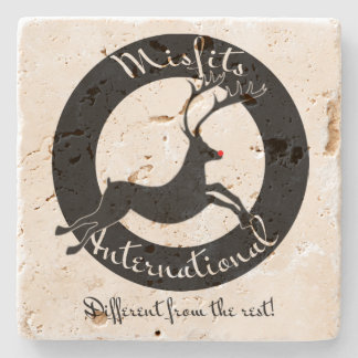 Misfits International stone coasters Stone Beverage Coaster