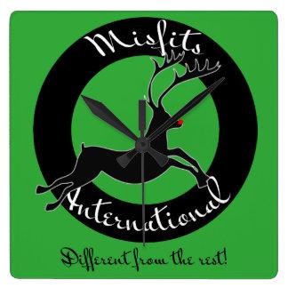 Misfits International wall clock