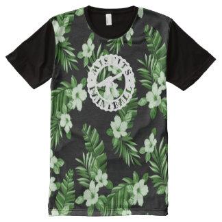 Misfits Paintball Hawaiian Aloha Print Shirt All-Over Print T-Shirt