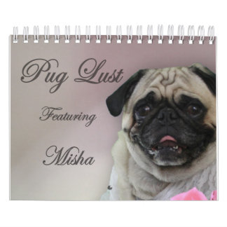 Misha for Pug Lust Lingerie Calendar