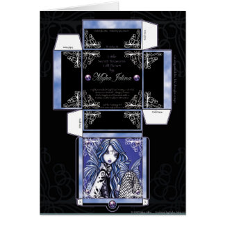 """Misha"" Gift Box Card Butterfly Fairy"
