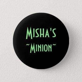 Misha's Minion (flair) 6 Cm Round Badge
