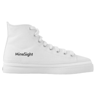 (MiSi) MineSight hightop tennis shoe Printed Shoes
