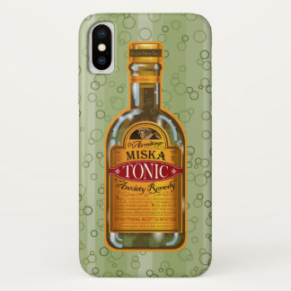 Miska Tonic - Eldritch Remedy iPhone X Ten Case