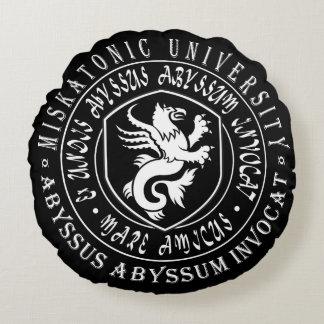 Miskatonic Gift - Miskatonic University Logo Round Cushion