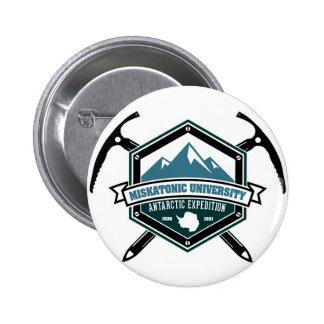 Miskatonic University Antarctic Expedition 6 Cm Round Badge