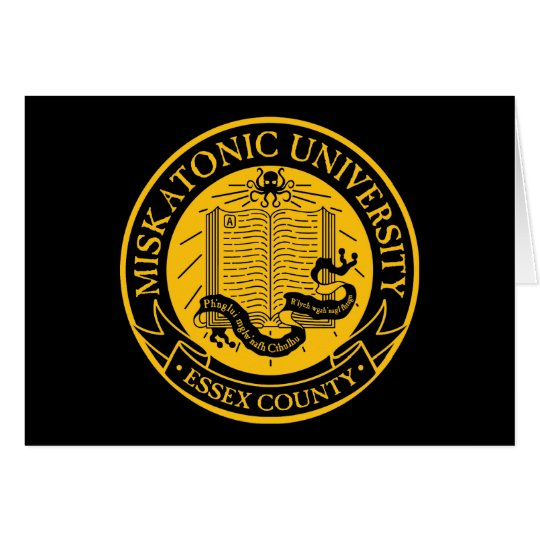 Miskatonic University Card
