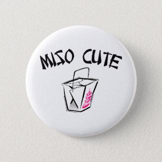 Miso Cute 6 Cm Round Badge