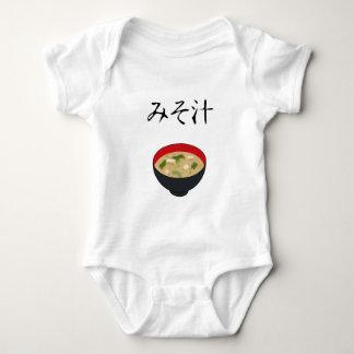 Miso soup baby bodysuit