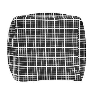 Misokoshigoushi Japanese Pattern Pouf B