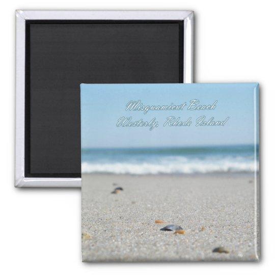 Misquamicut Beach Rhode Island Magnet