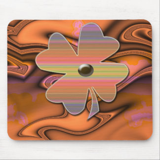 """Miss 60s Flower Power""* Mouse Pad"