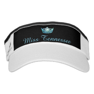 Miss America Aqua Crown Visor  Hat