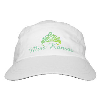 Miss America Aqua-Greens Tiara  Baseball Cap