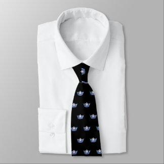 Miss America Blue Crown Men's Tie