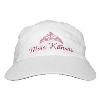 Miss America Crimson/Pink Tiara  Baseball Cap