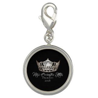 Miss America Crown SP Charm-Custom Name