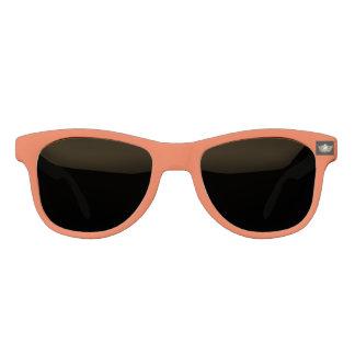 Miss America Gold Crown Orange Custom Sunglasses