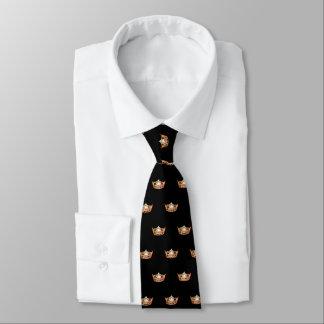 Miss America Orange Crown Men's Tie