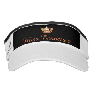 Miss America Orange Crown Visor  Hat
