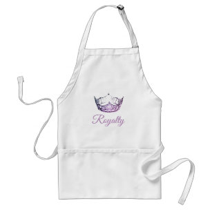 Miss America Orchid Crown Apron