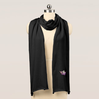 Miss America Orchid Crown Knit Scarf