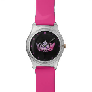 Miss America Pink Crown Watch-Pink Watch