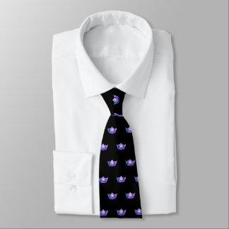 Miss America Purple Crown Men's Tie