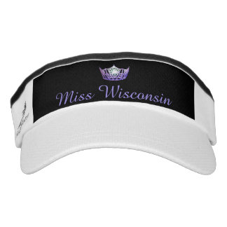 Miss America Purple Crown Visor  Hat