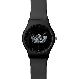 Miss America Silver Crown Black May 28th Watch