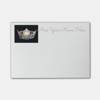 Miss America Silver Crown Post-it-Notes Post-it Notes