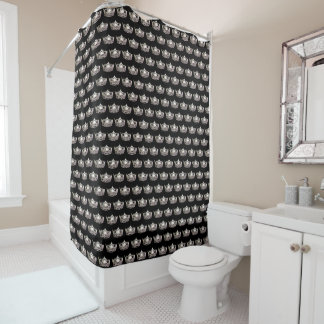 Miss America Silver Crown Shower Curtain