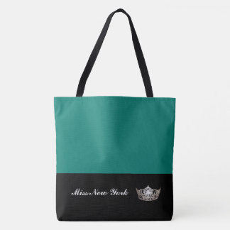 Miss America Silver Crown Tote Bag-Large Bahama