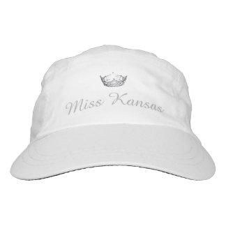 Miss America Silver Tone Crown Baseball Cap