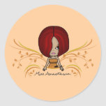 """Miss Anastasia"" Stickers"