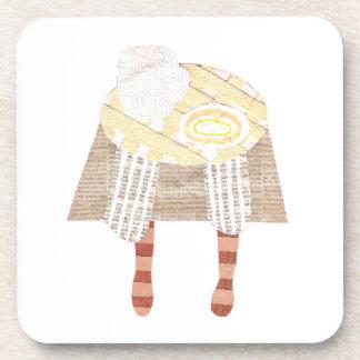 Miss Coffee Cork Coasters