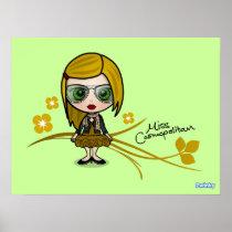 """Miss Cosmopolitan"" Poster posters"